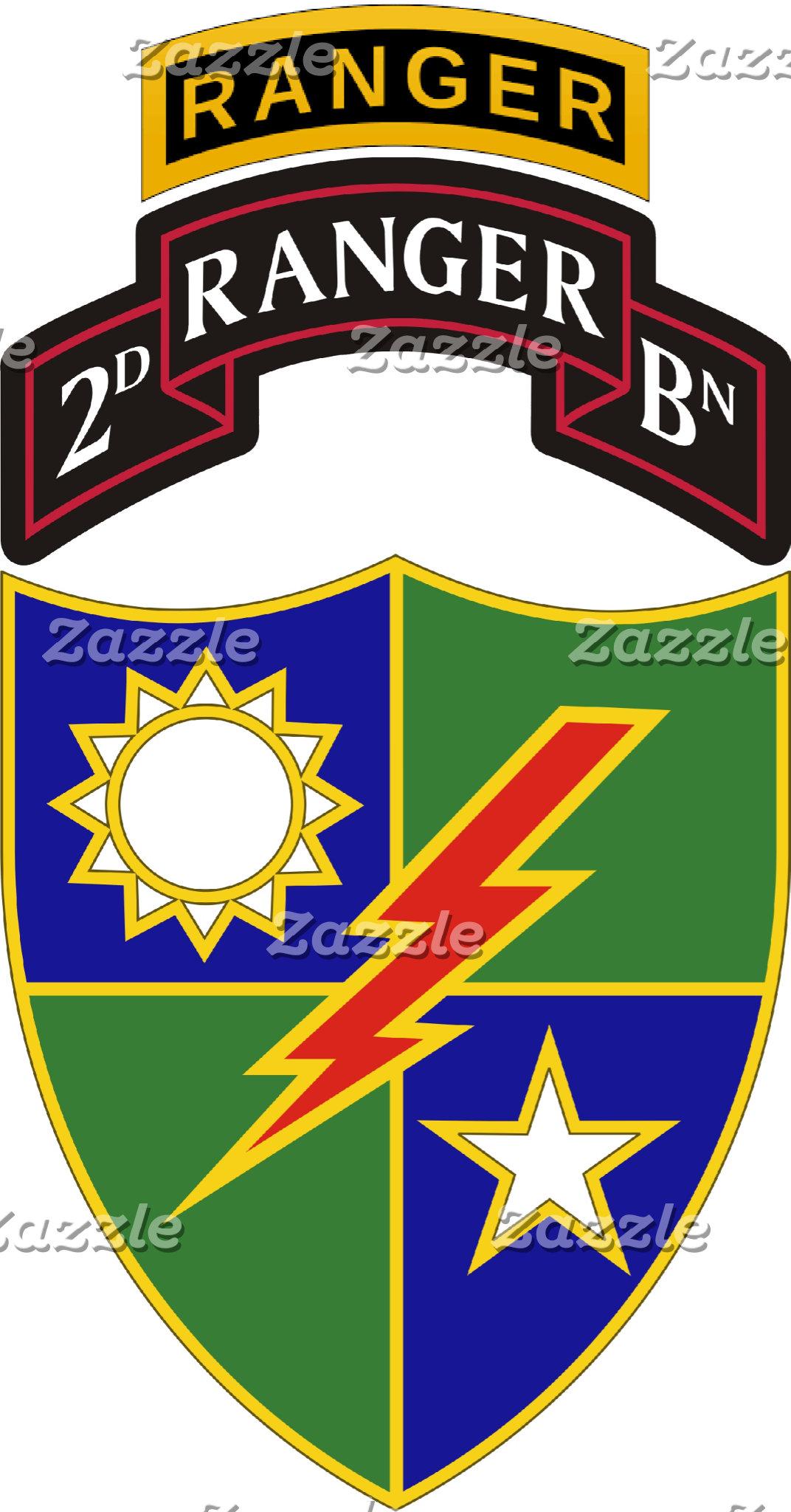 2nd Battalion - 75th Ranger Regiment w/ Ranger Tab