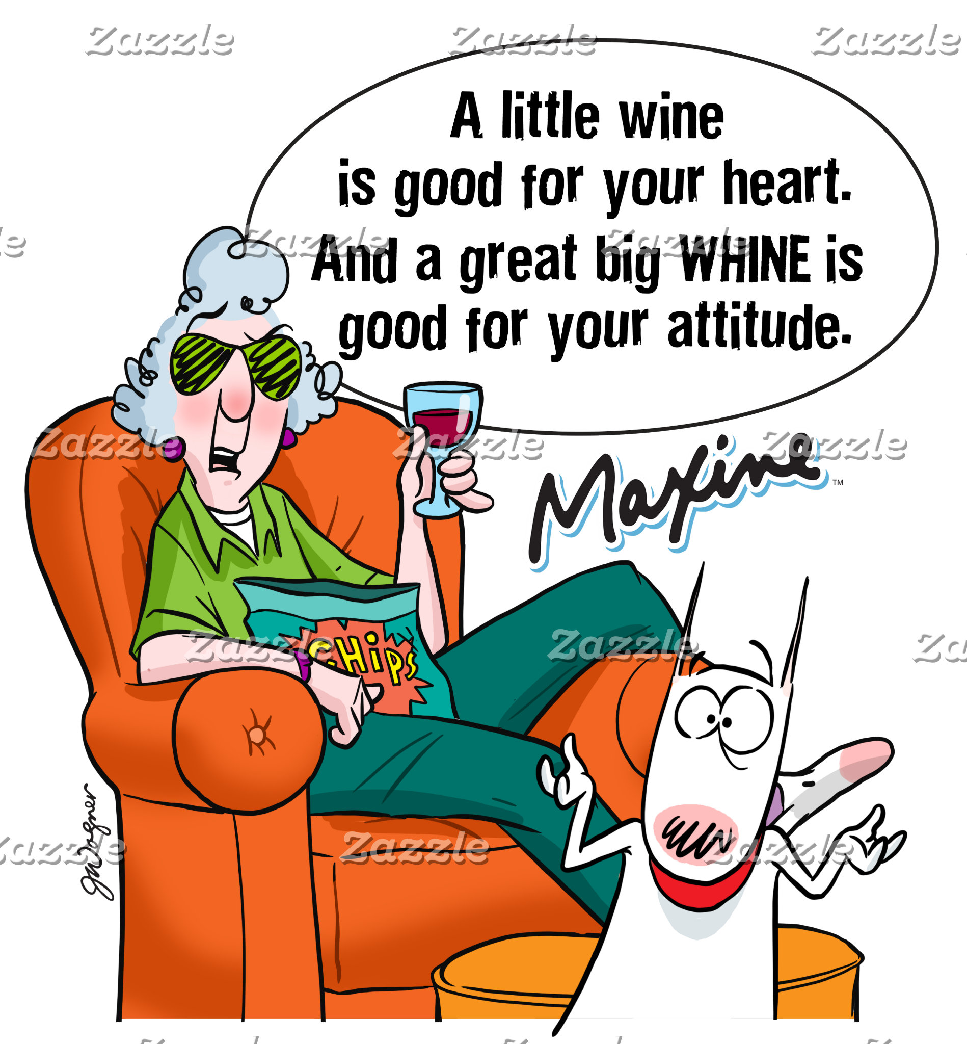 Maxine | A Great Big WHINE