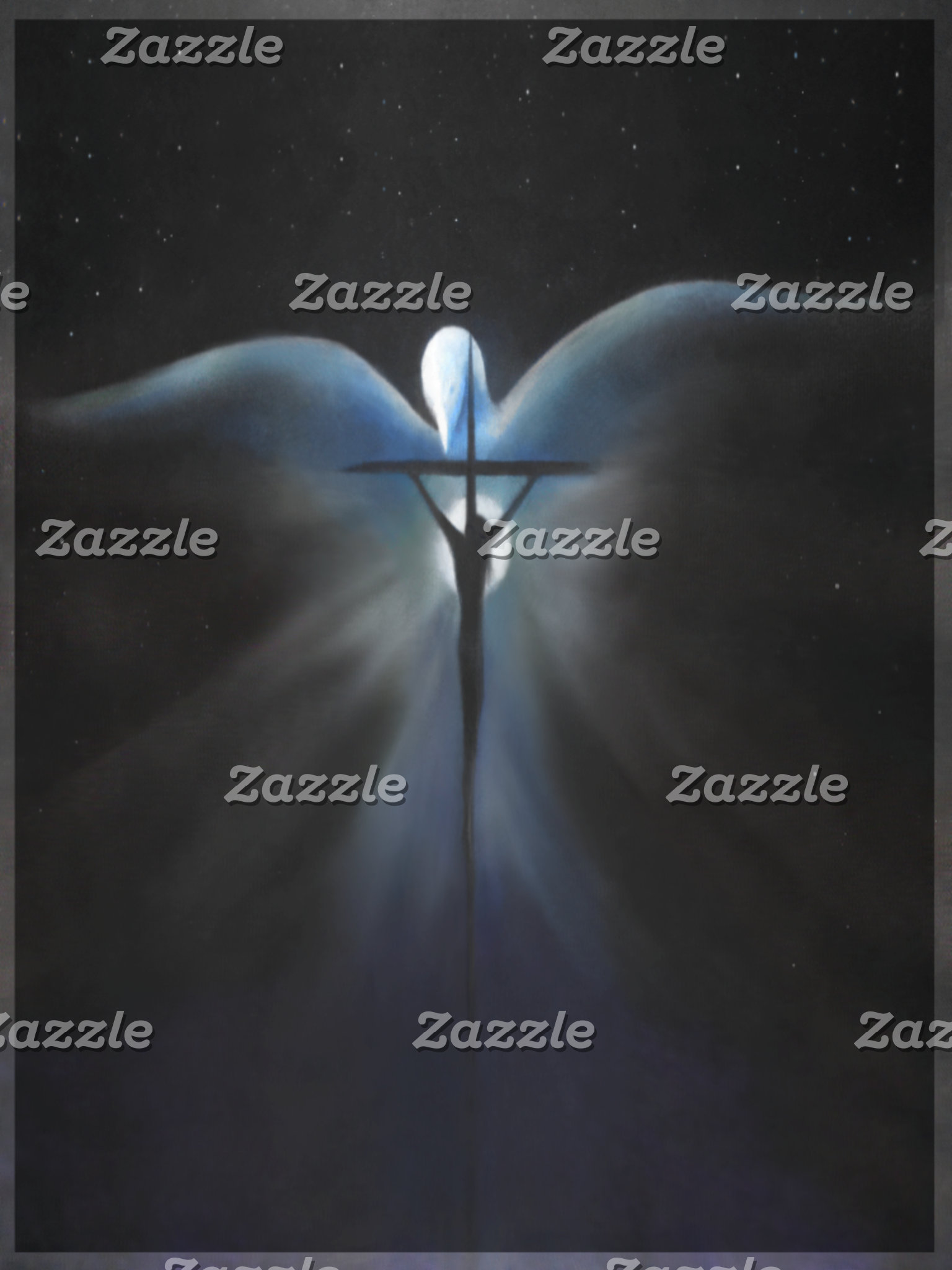 Crucifixion with Holy Spirit