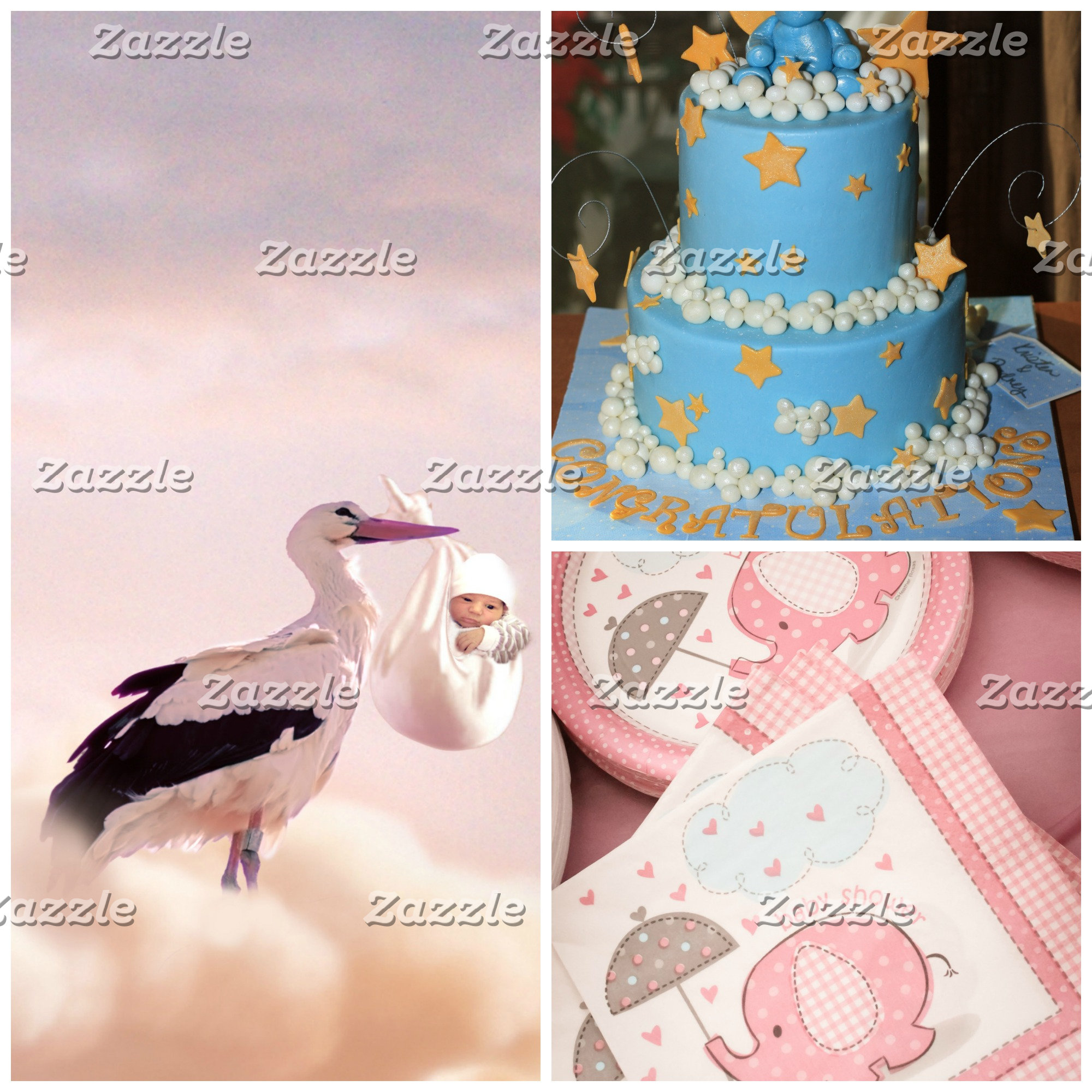 Baby Announcements and Showers