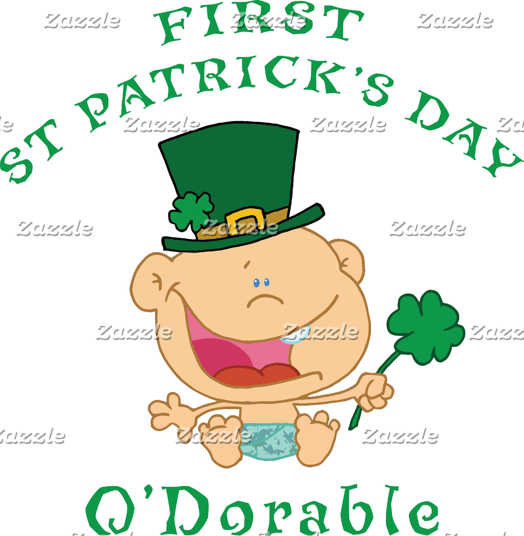 First St Patrick's Day T-Shirt Gifts Cards
