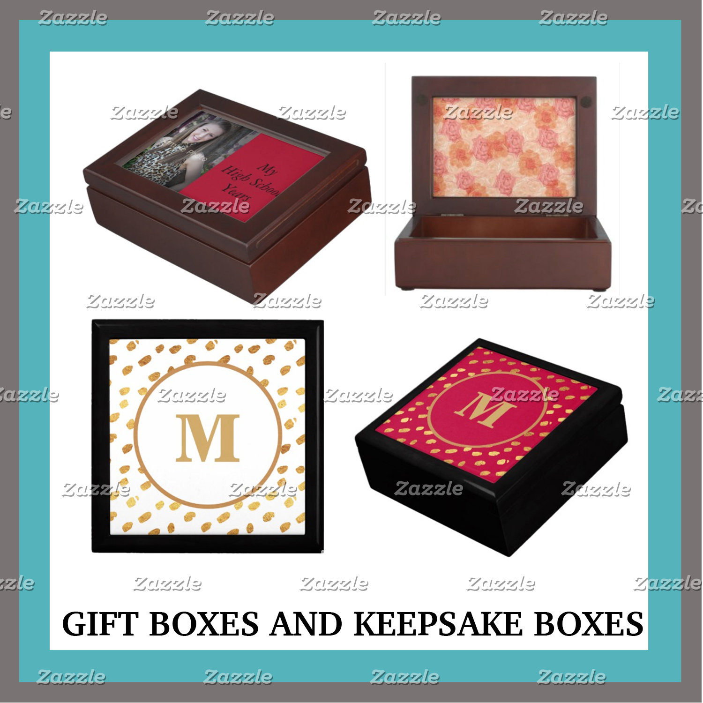 Gift Boxes and Keepsake Boxes