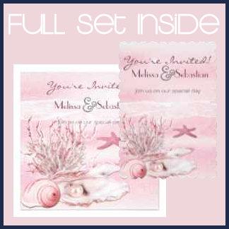 Dream Shore Beach Carnation Pink Wedding