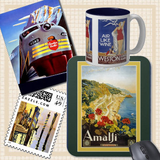 Vintage Travel Ad's
