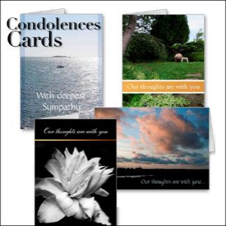 6 - Condolences Cards