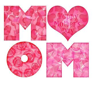 Happy Mother's Day Mom Alphabet
