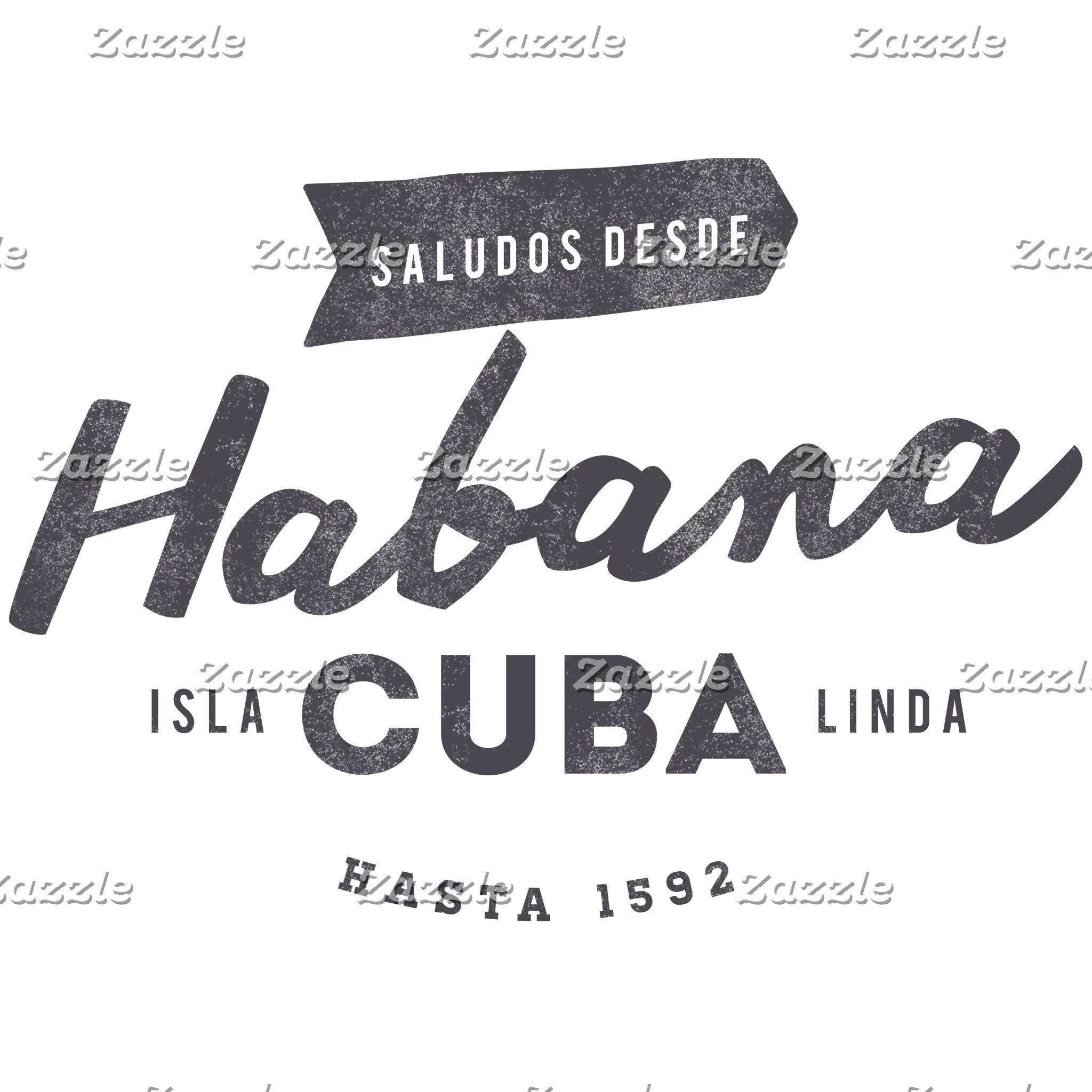 Saludos Desde Habana Cuba Logo