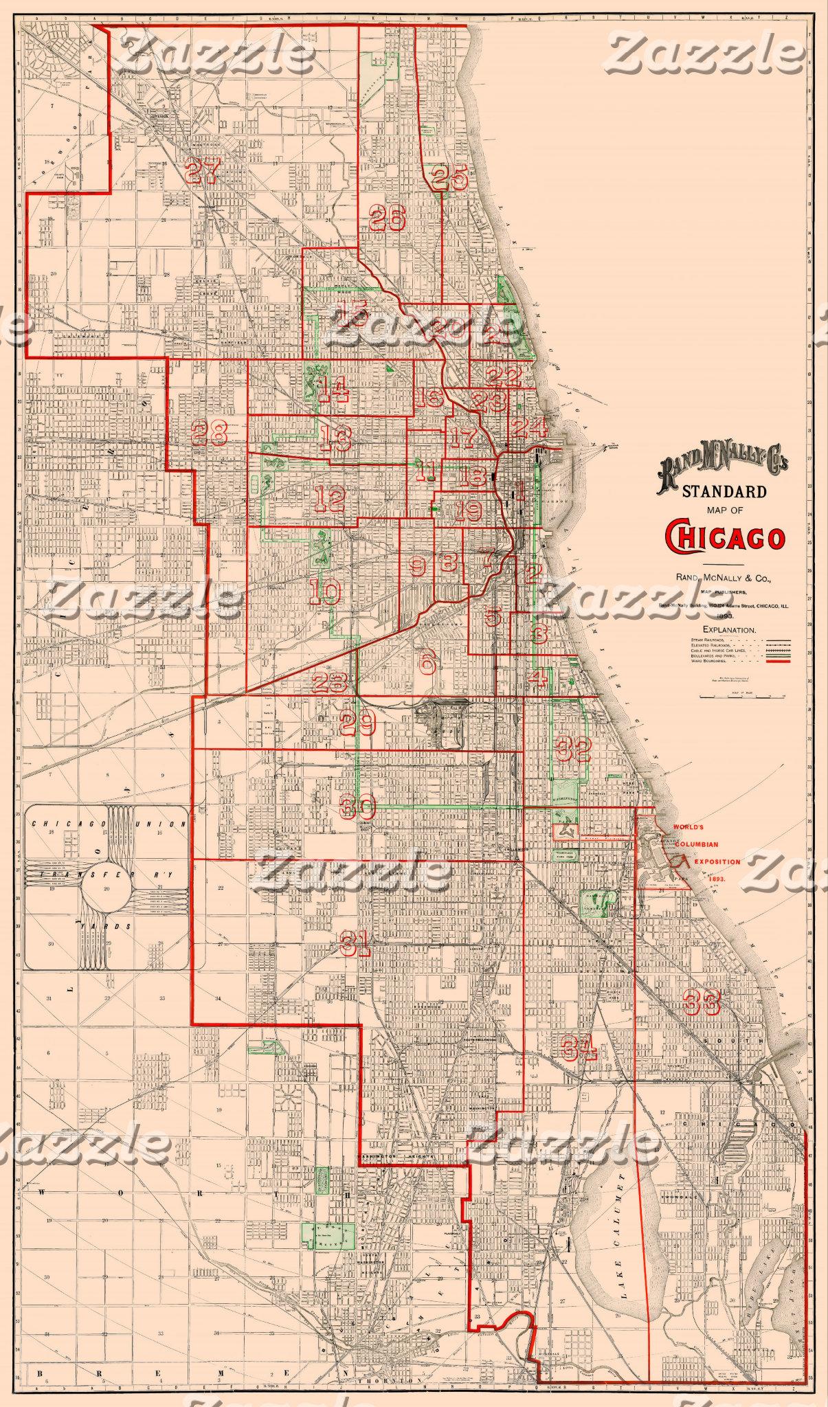 Vintage Old Maps