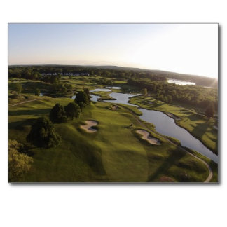Aerial Views of Golf Course