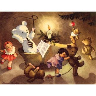 Dancing Christmas Toys
