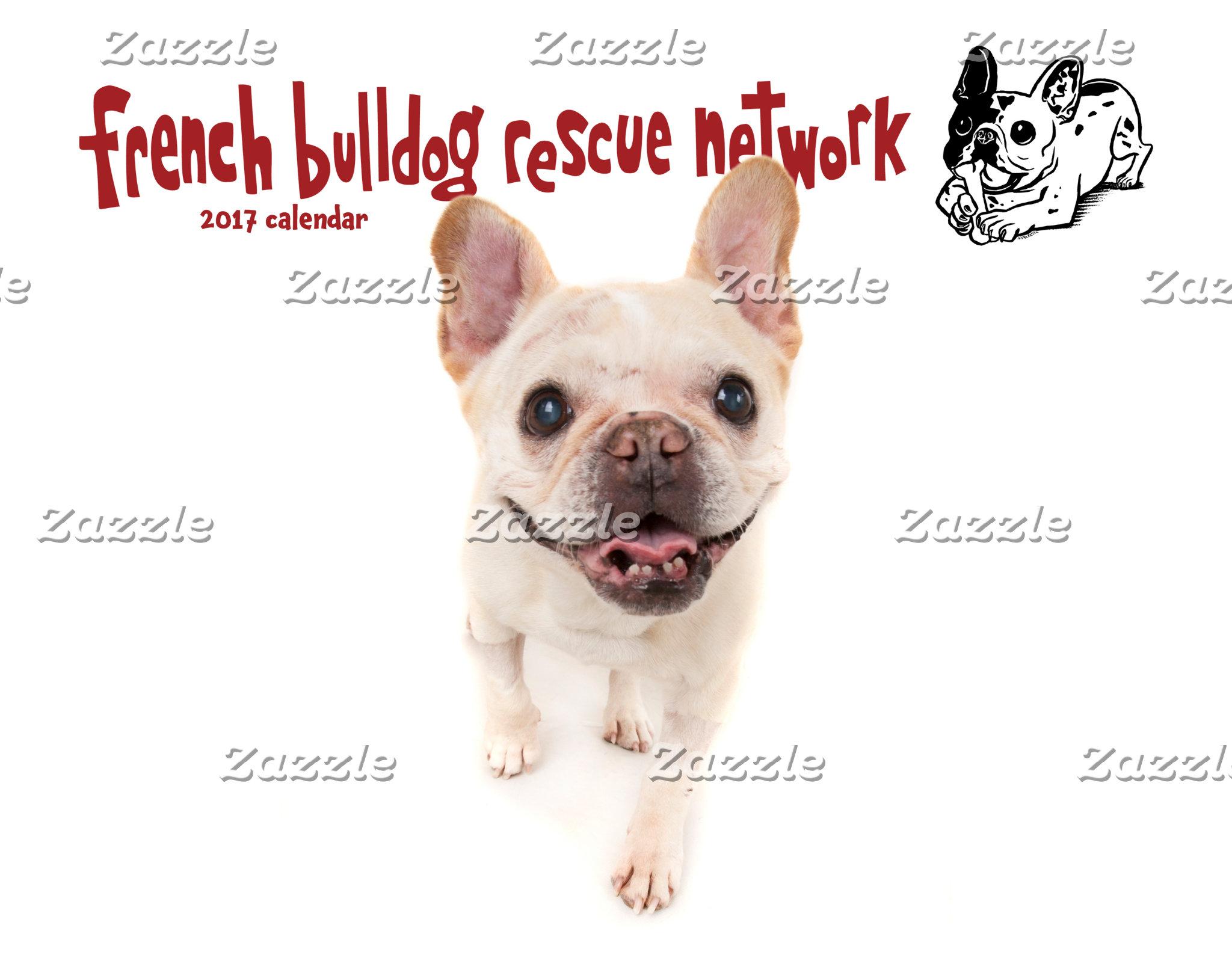 2017 French Bulldog Calendars