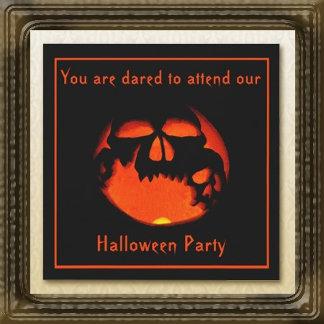 Halloween Skulls Jack O' Lantern