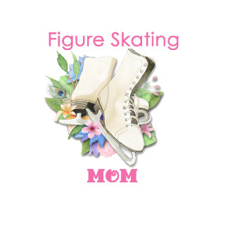 (B) Pretty Pink Figure Skating Mom