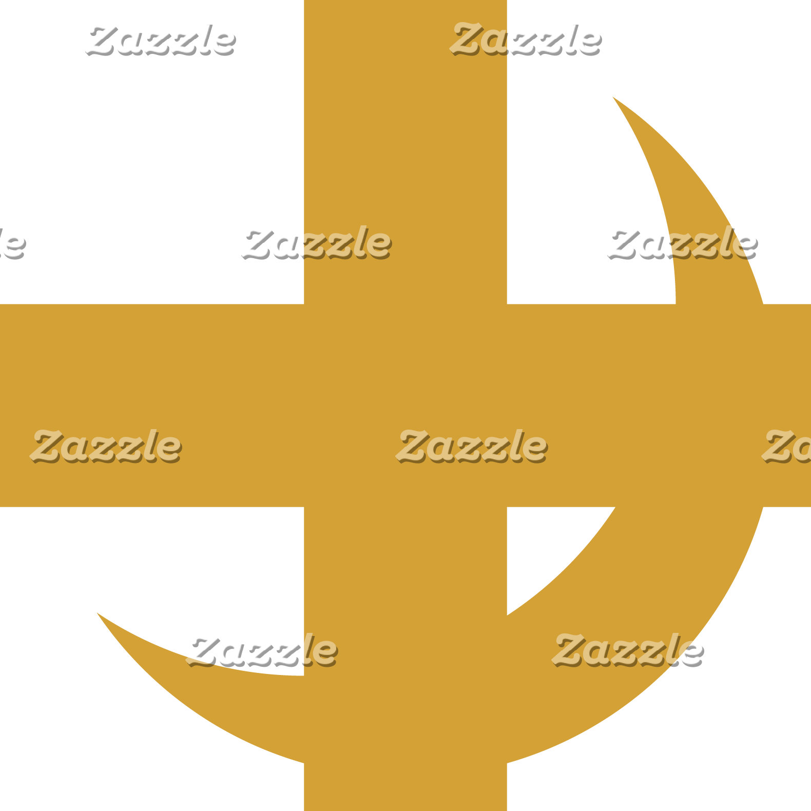Cross & Crescent Gold