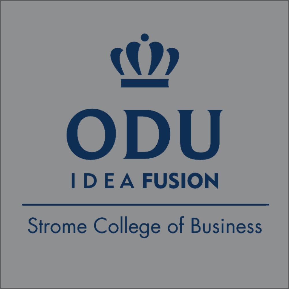 ODU Stacked Logo - Blue