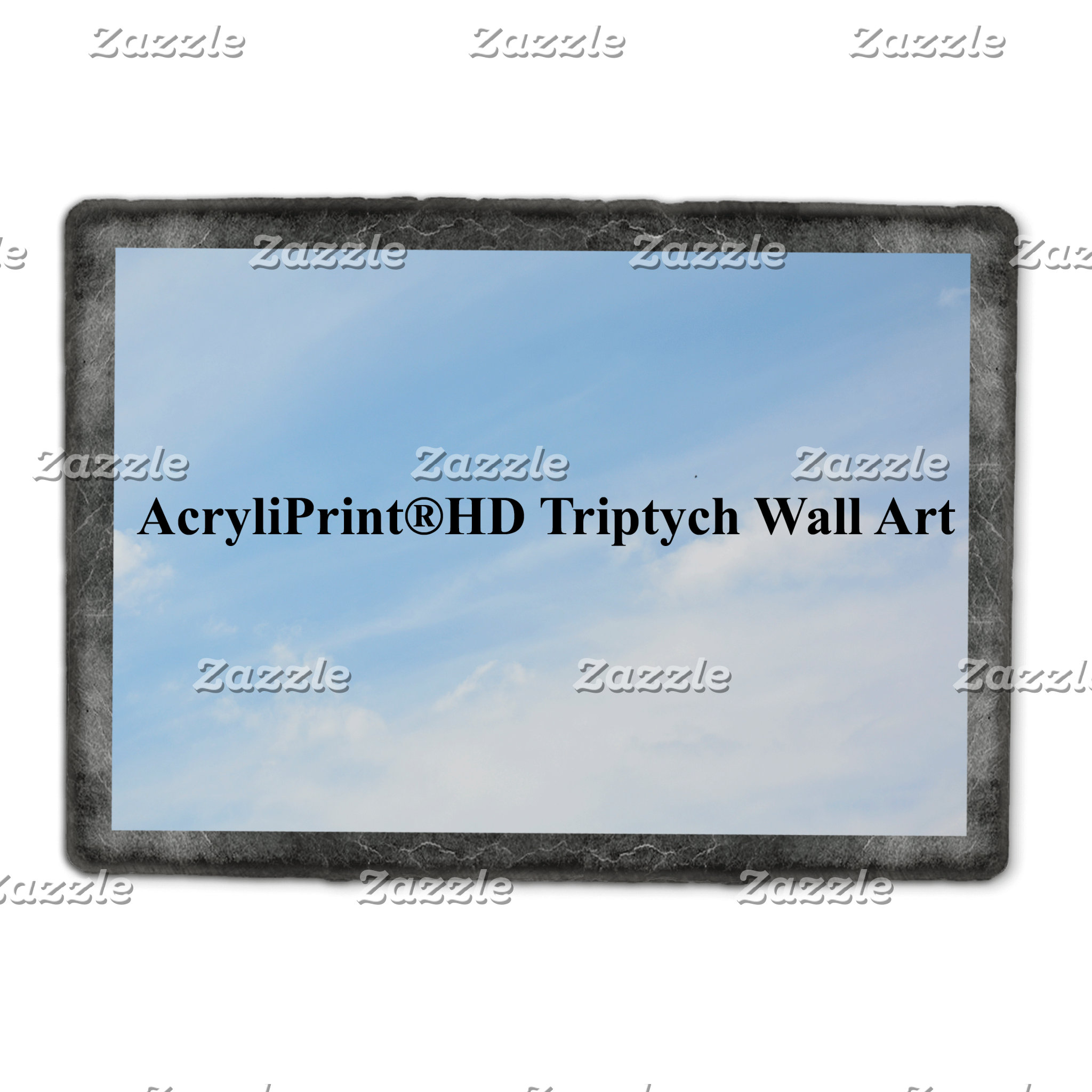 A AcryliPrint®HD Triptych Wall Art