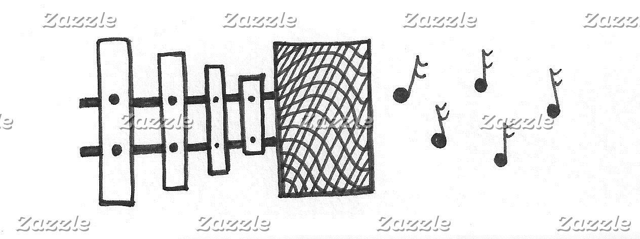 Xylophone Speaker