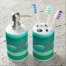 Bathroom Mats, Dispenser Sets & Shower Curtains