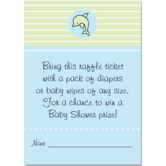 Baby Shower Raffle Tickets
