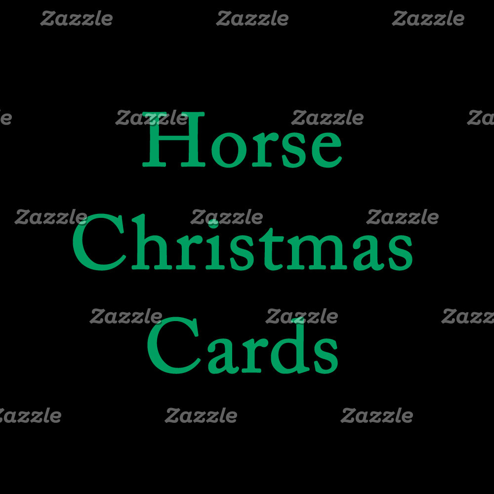 Horse Christmas Cards