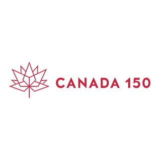 Canada 150 Horizontal Red