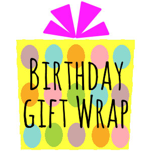 Birthday Gift Wrap