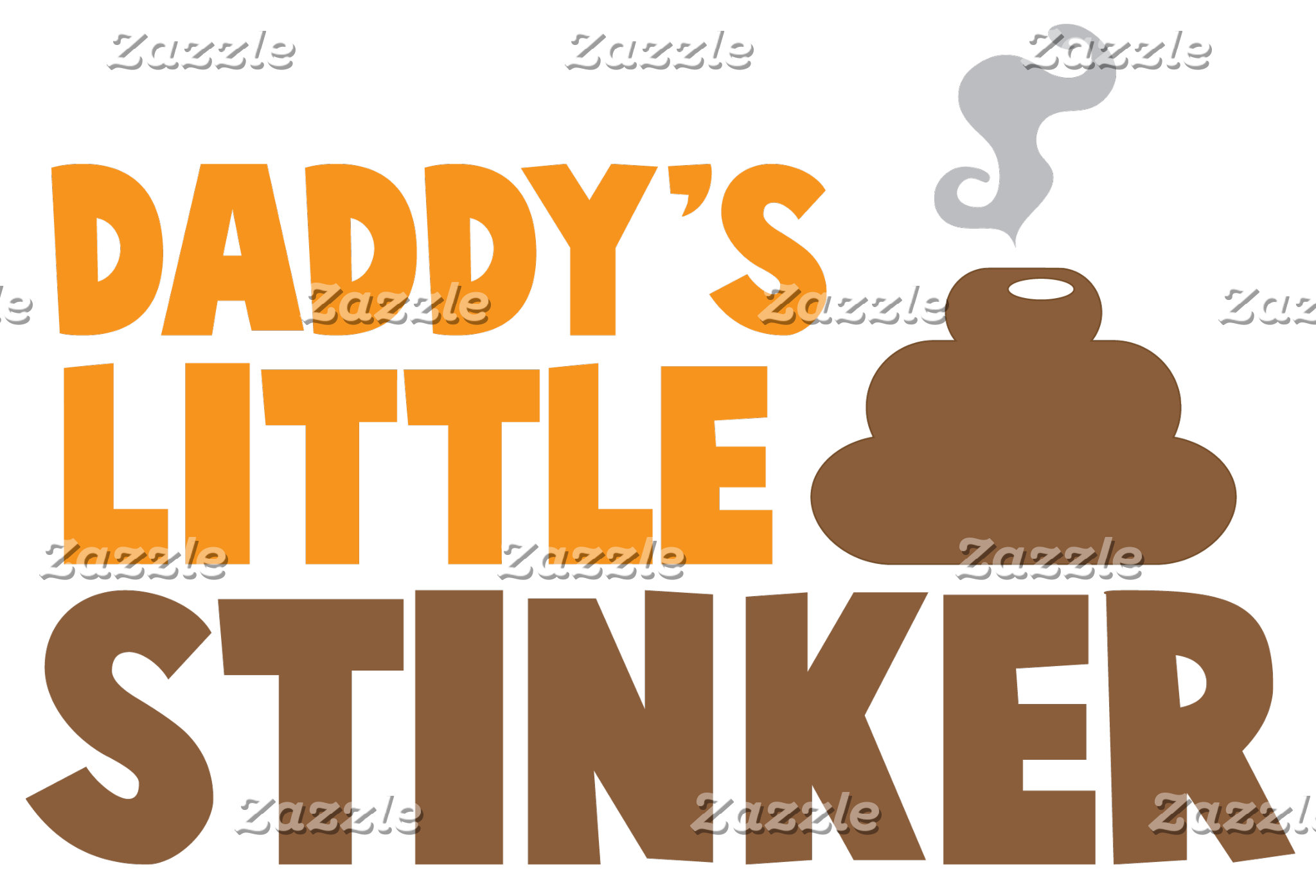 Daddy's little STINKER with cute poo