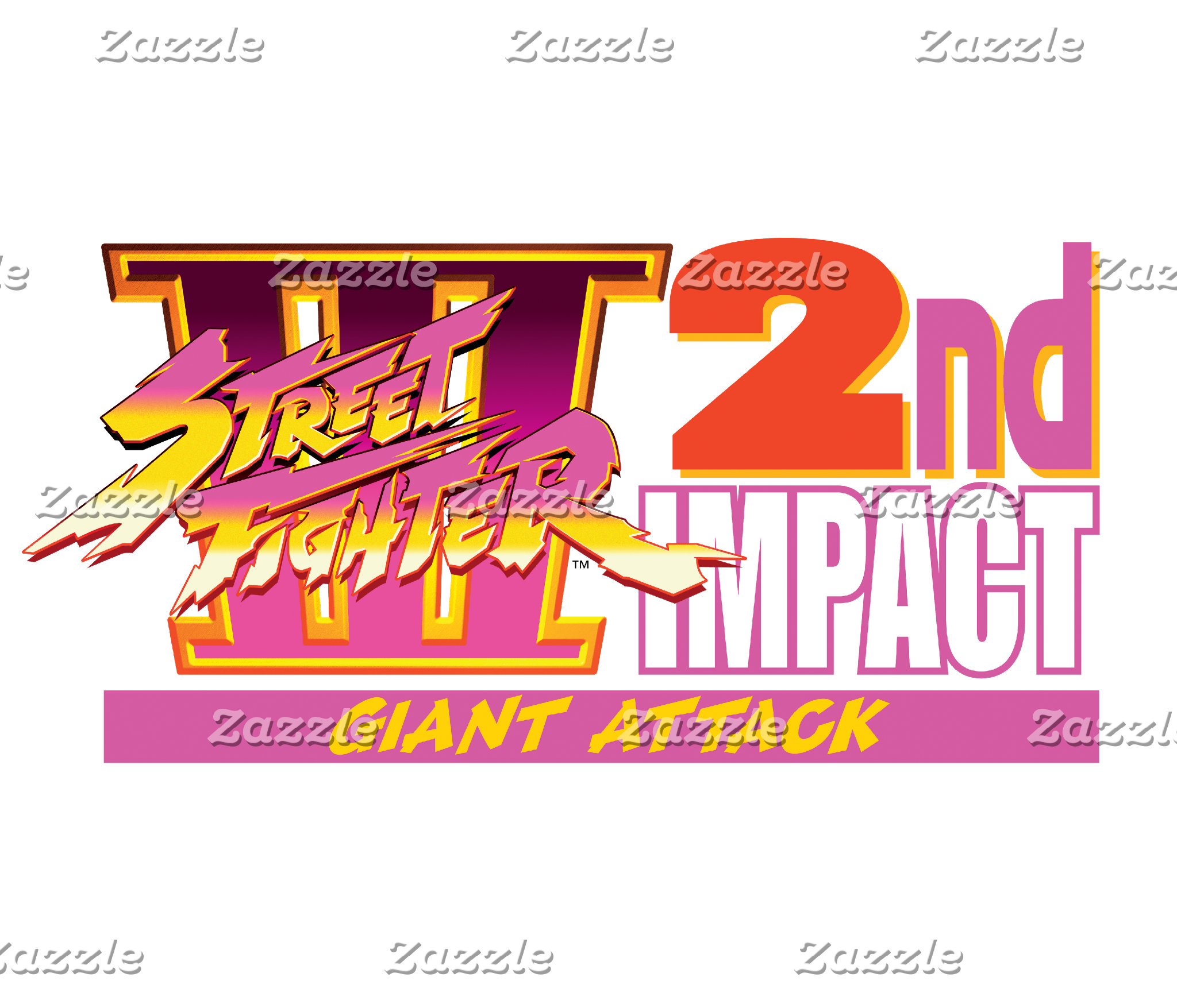 Street Fighter III 2nd Impact Giant Attack