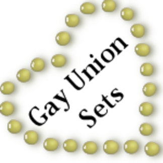 Gay and Lesbian Wedding Sets