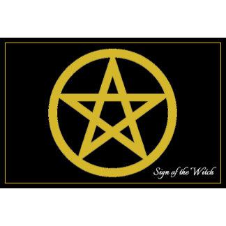 Gold Pentagram
