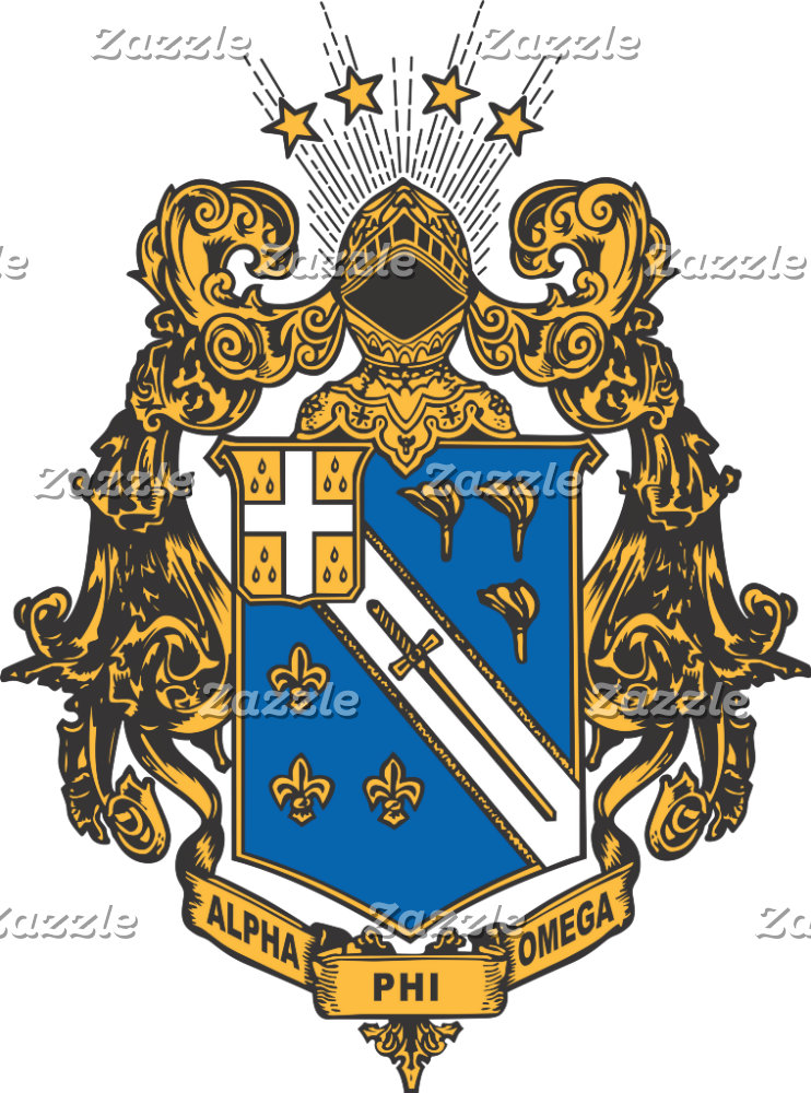 Alpha Phi Omega Color - Crest
