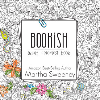 Bookish: Adult Coloring Book