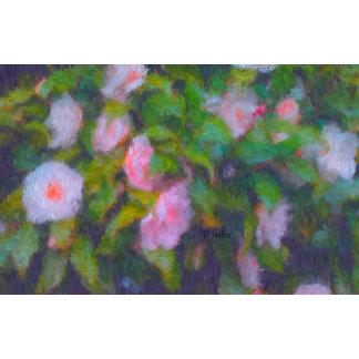 Camellia Design-Pink