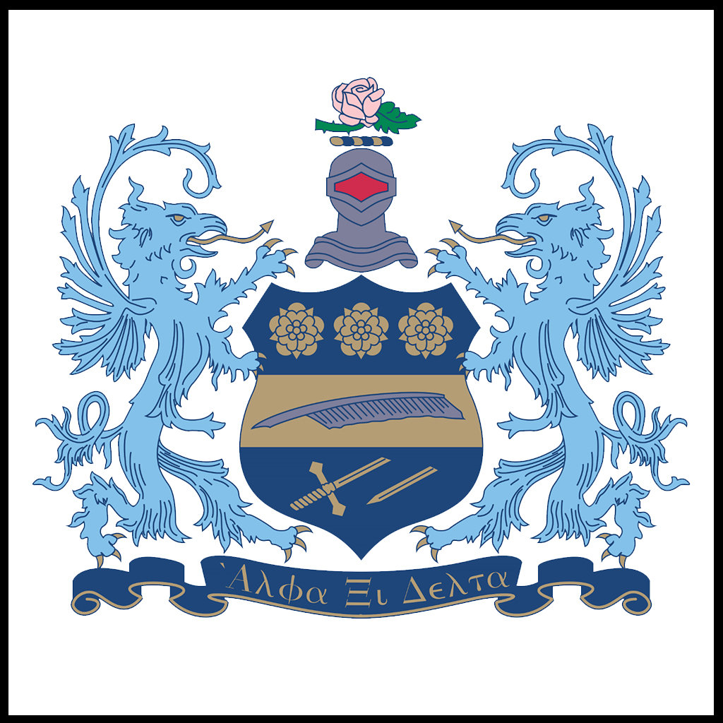 Alpha Xi Delta Crest Color