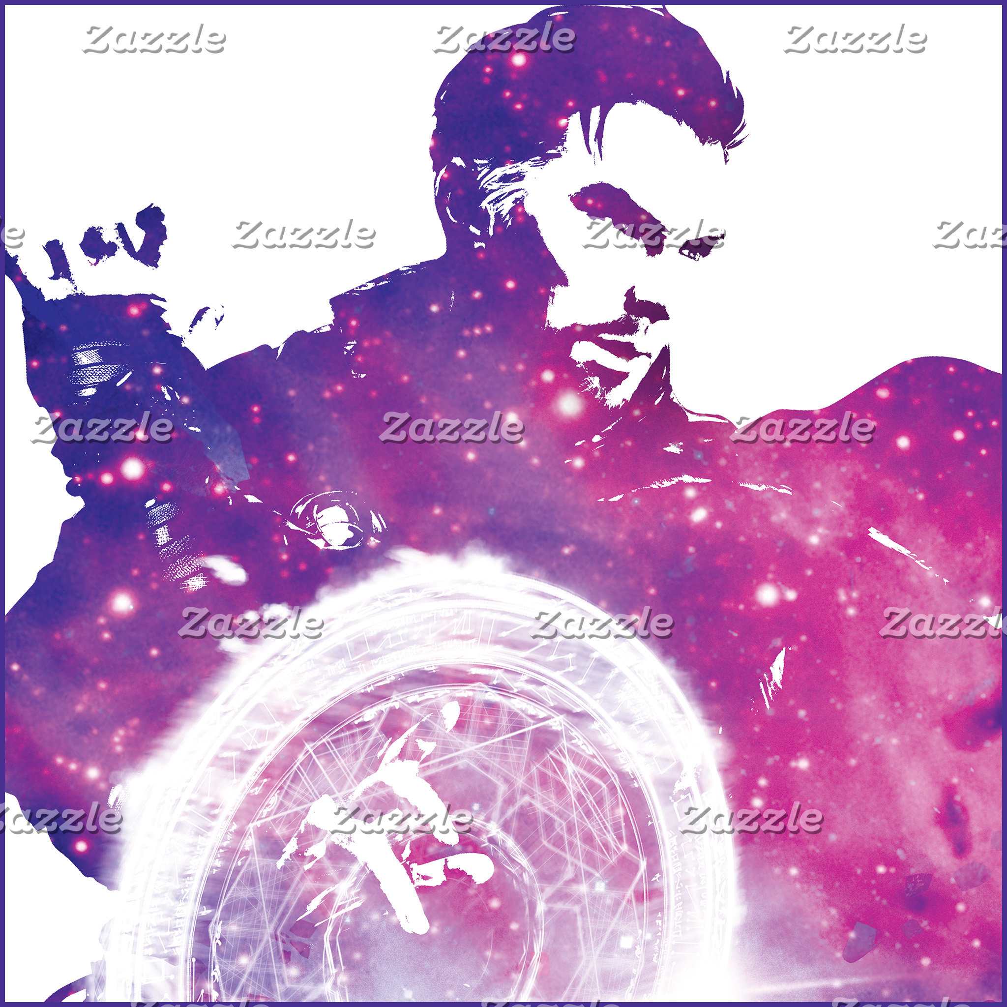 Doctor Strange Galaxy Character Silhouette