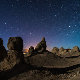 Trona and the Milky Way