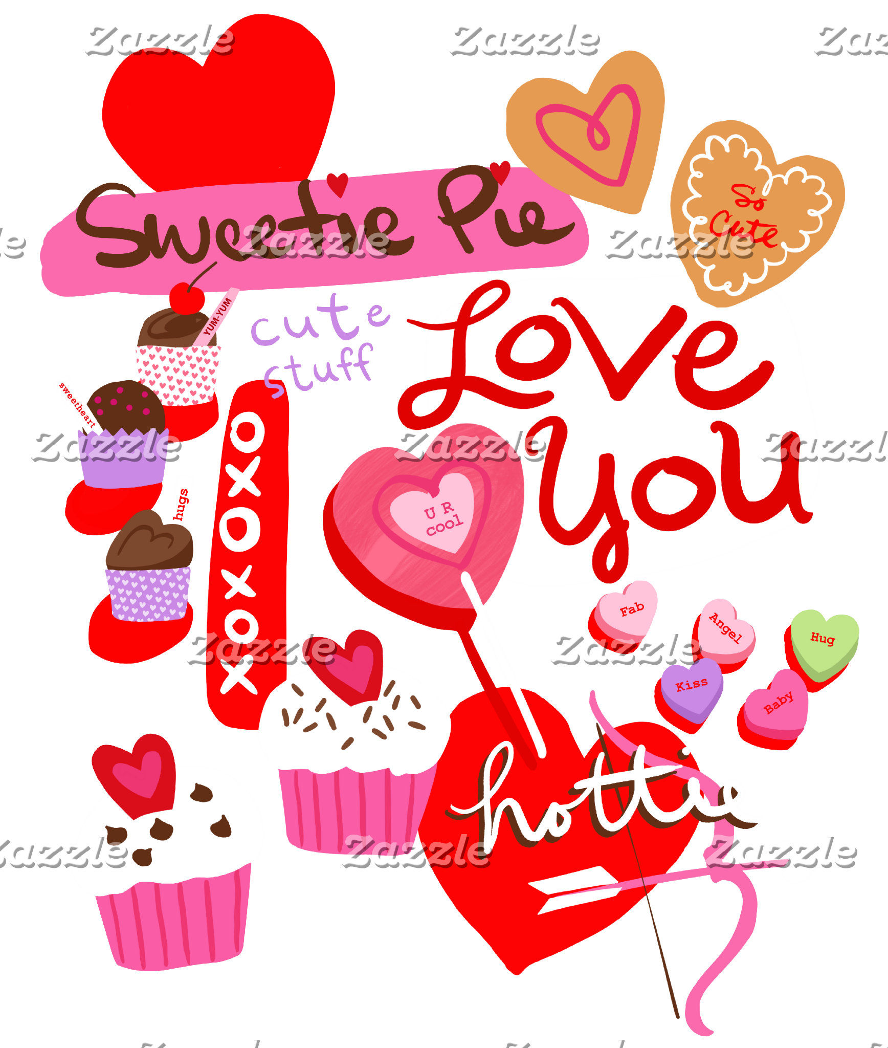 Sweetie Pie Hearts and Treats