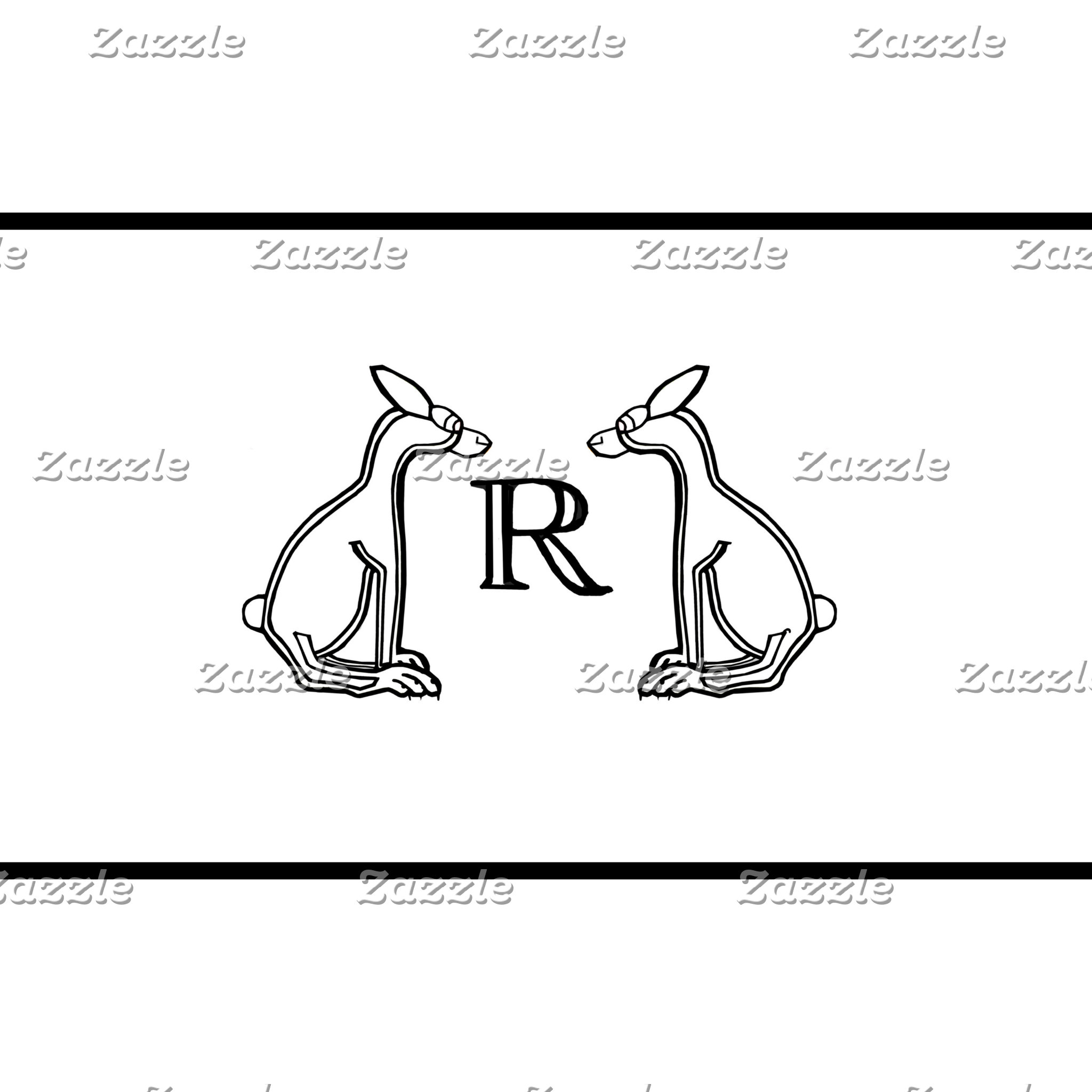 Black and White Rabbits