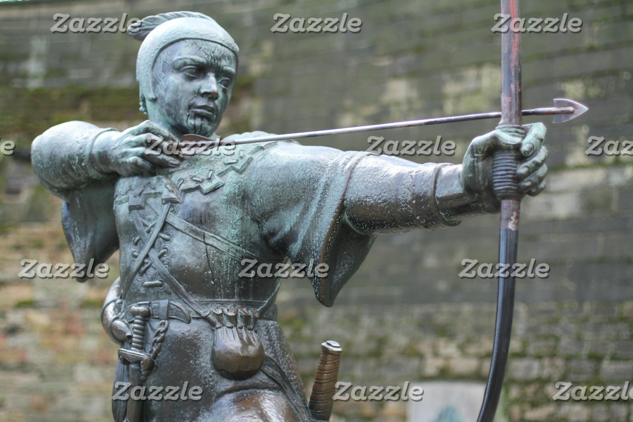Robin Hood Statue Nottingham