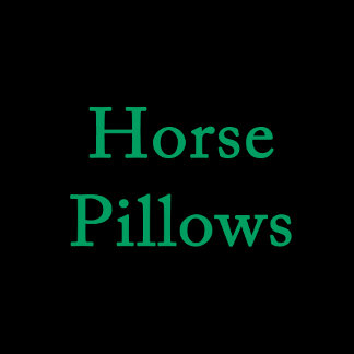 Horse Pillows