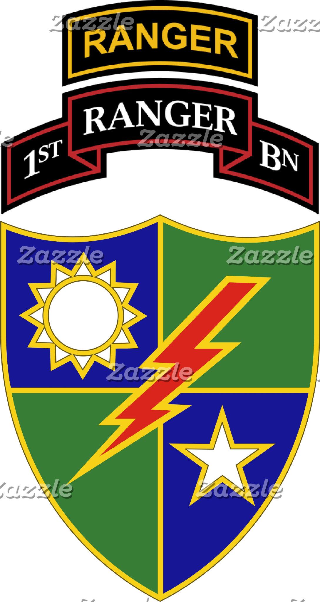 1st Battalion - 75th Ranger Regiment w/ Ranger Tab