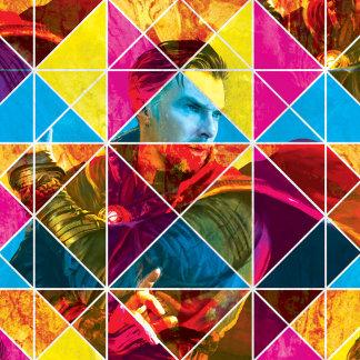 Doctor Strange Geometric Colorful Pattern