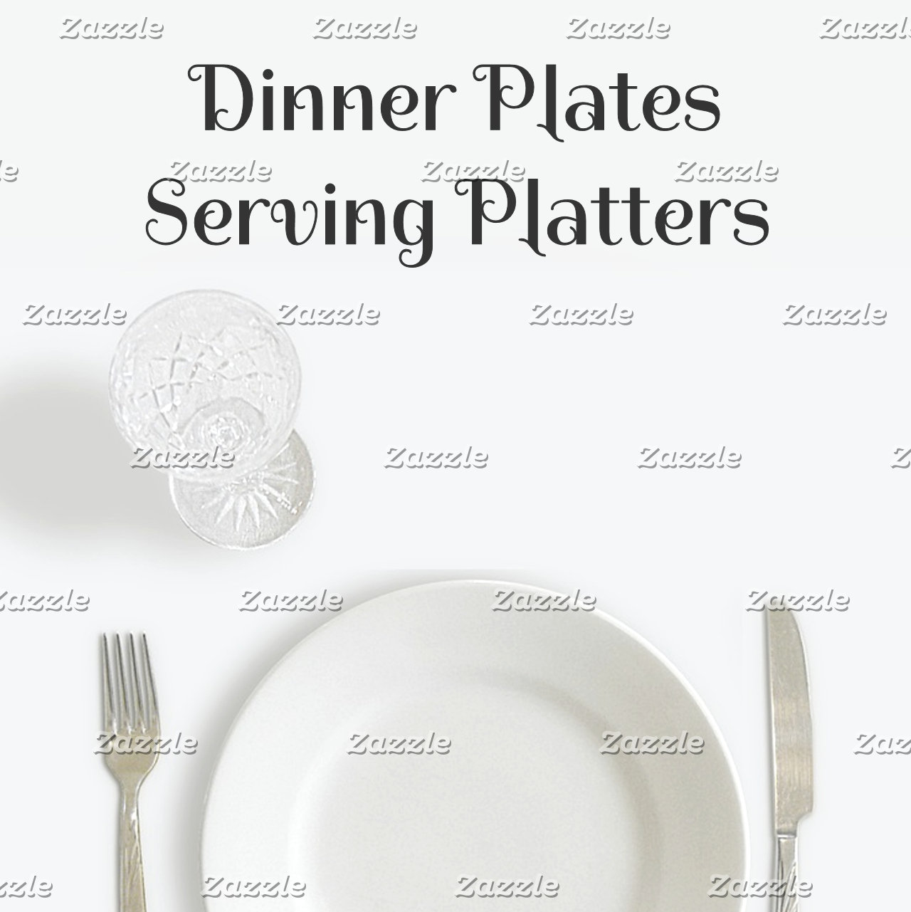 Dining~Plates & Platters