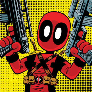 Mini Deadpool With Guns