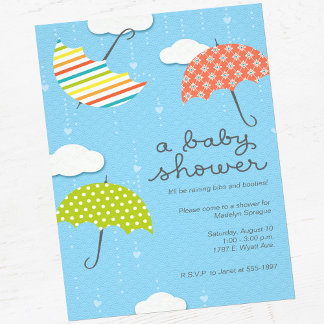 Baby Shower Umbrellas Suite