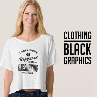 Black Graphic Clothing