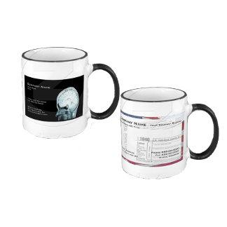 Matching Business Card Coffee Mugs