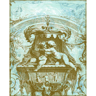 18th Century Cherubs Rococo Design