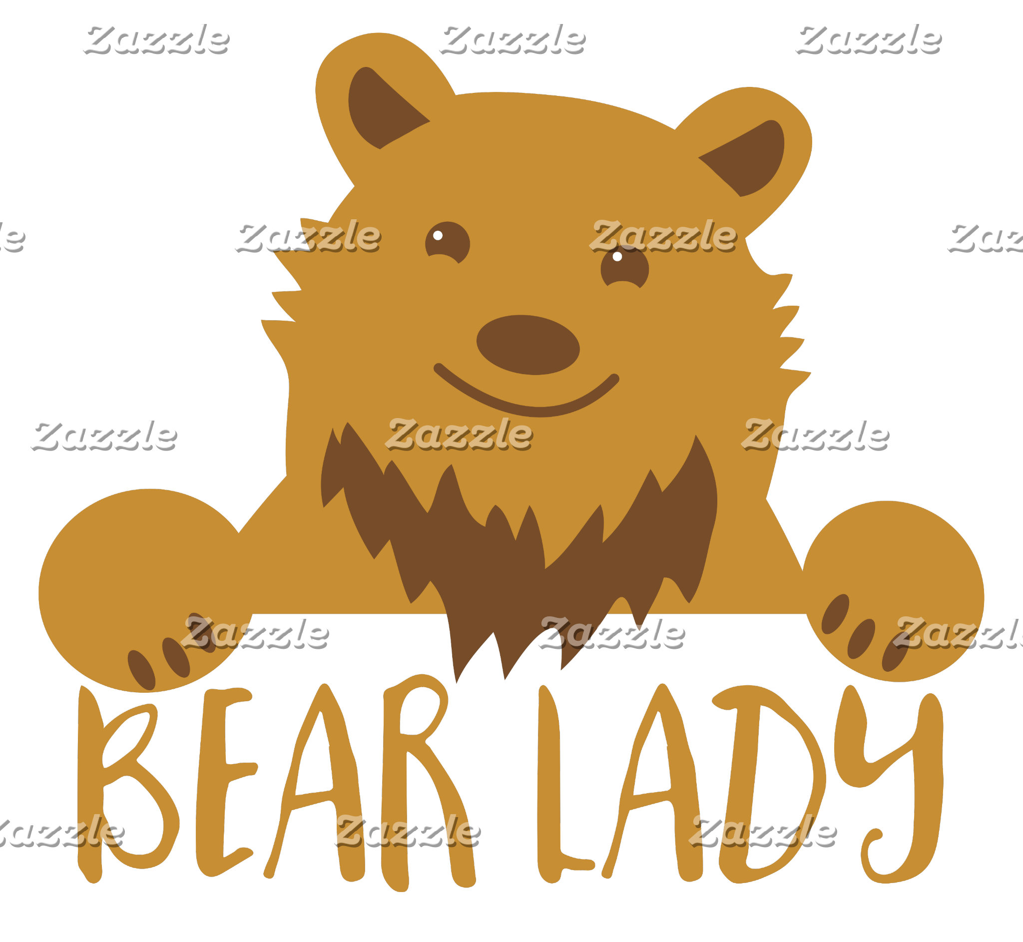 bear lady cute