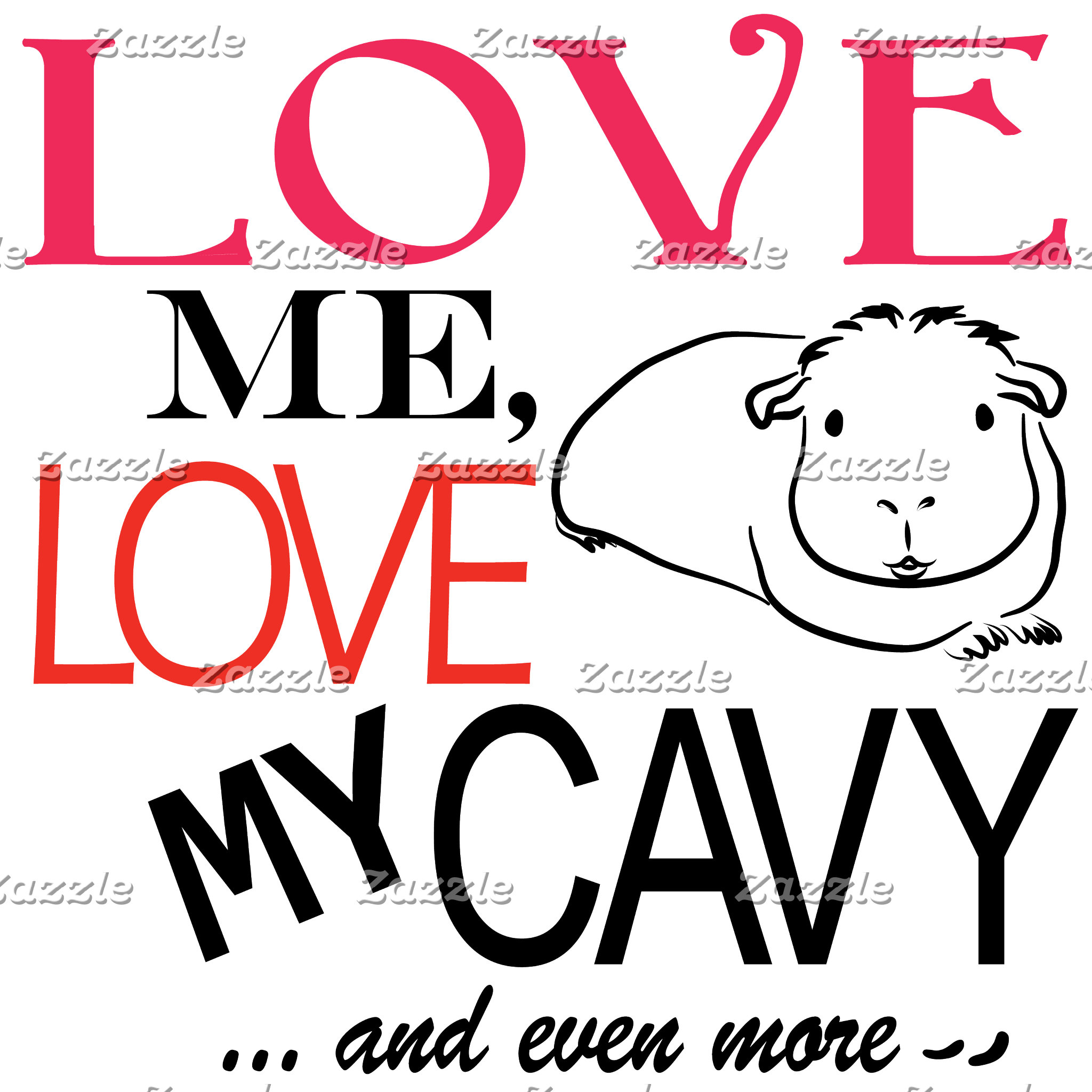 Love me, Love my cavy